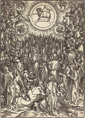 Albrecht Dürer German, 1471 - 1528, The Adoration Poster by Quint Lox