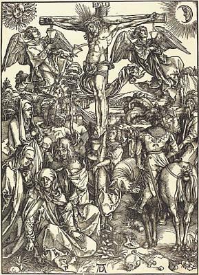 Albrecht Dürer German, 1471 - 1528, The Crucifixion Poster by Quint Lox