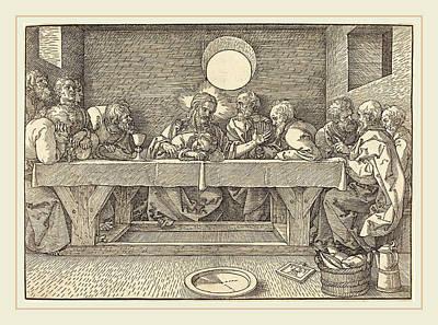 Albrecht Dürer German, 1471-1528, The Last Supper Poster by Litz Collection