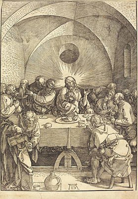Albrecht Dürer German, 1471 - 1528, The Last Supper Poster by Quint Lox
