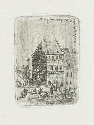Albrecht Drer House In Nuremberg, Joseph Hartogensis Poster