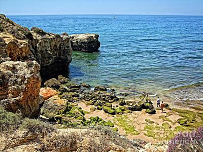 Albufeira Cliffs Poster