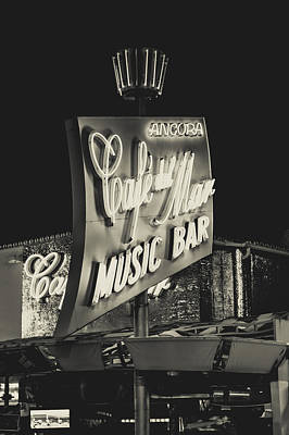 Albufeira Street Series - Cafe Del Mar II Poster
