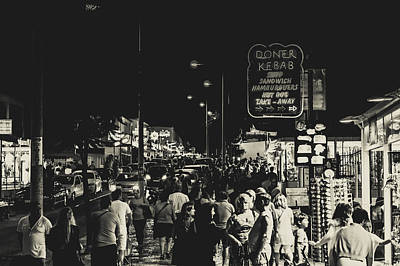 Albufeira Street Series - Doner Kebab I Poster