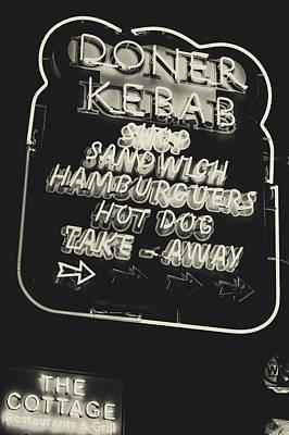 Albufeira Street Series - Doner Kebab II Poster