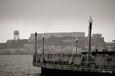 Poster featuring the photograph Alcatraz by Alex King