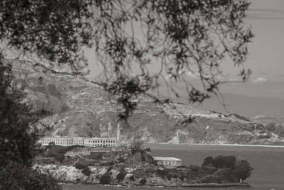 Alcatraz In San Fransico Poster by John McGraw