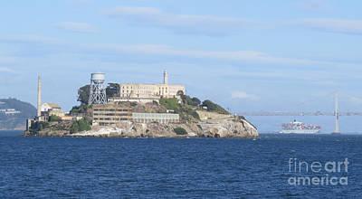 Alcatraz Island Poster by Mary Mikawoz