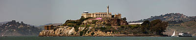 Alcatraz Panorama Poster