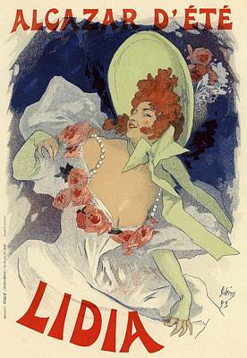 Alcazar D'ete Lidia Poster by Gianfranco Weiss