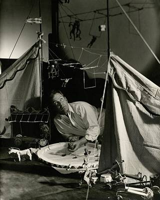 Alexander Calder In His Studio Poster by George Hoyningen-Huene