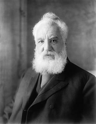 Alexander Graham Bell Poster by Underwood Archives