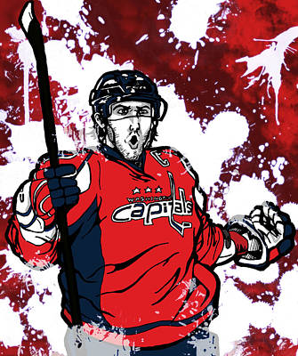 Alexander Ovechkin Poster by Nate Gandt