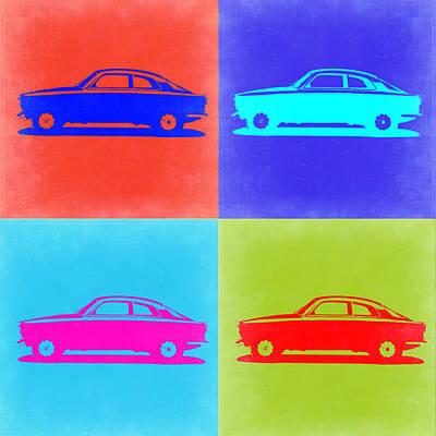 Alfa Romeo Gtv Pop Art 2 Poster by Naxart Studio