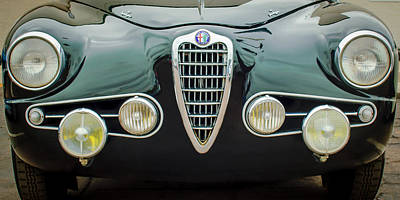 Alfa Romeo Milano Grille -0016c Poster by Jill Reger