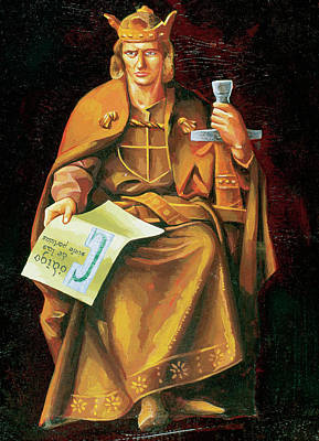 Alfonso X Of Castile 'the Wise (toledo Poster by Prisma Archivo