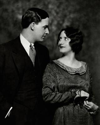 Alfred Lunt And Lynn Fontanne Poster by Nickolas Muray