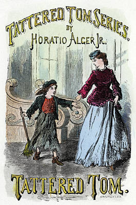 Alger Tattered Tom, 1871 Poster