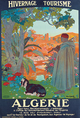 Algerie Poster by Leon Georges Carre