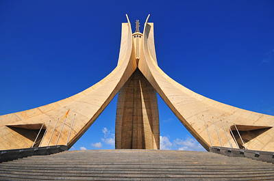 Algiers Martyrs Monument Poster