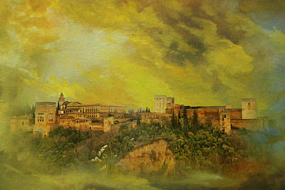 Alhambra Granada  Poster by Catf