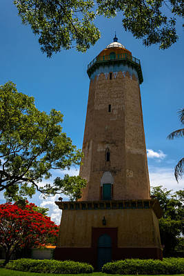 Alhambra Water Tower Of Coral Gables Poster