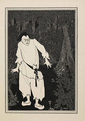 Ali Baba In The Wood Poster by British Library