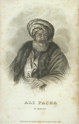 Ali Pacha Of Janina Poster by British Library