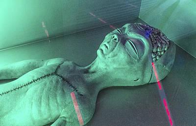 Alien Autopsy Poster by Gary Warnimont