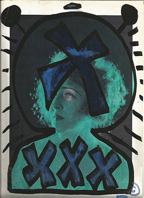 Alien Black Blue Xxxx Poster