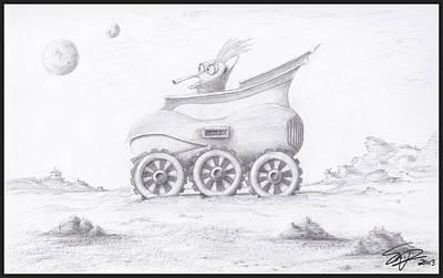 Alien Buggy Poster