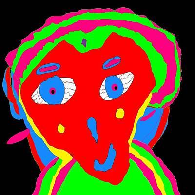 Alien Lady # Poster
