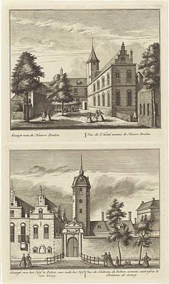Alkmaar With Nieuwe Doelen And The Hof Van Sonoy Poster