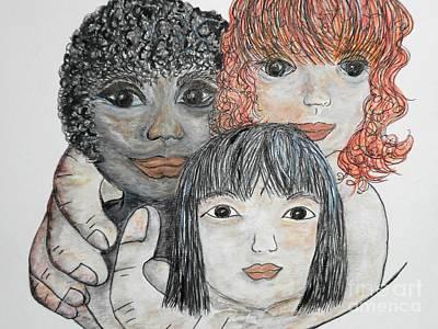 All God's Children Poster by Eloise Schneider