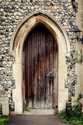 All Saints Church Door Poster