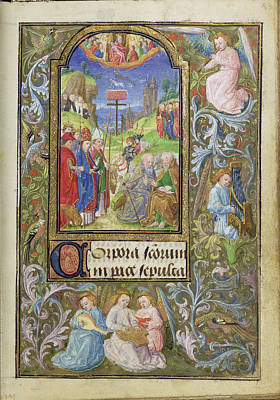All Saints Lieven Van Lathem, Flemish, About 1430 - 1493 Poster