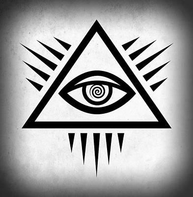 All Seeing Eye Poster by Daniel Hagerman