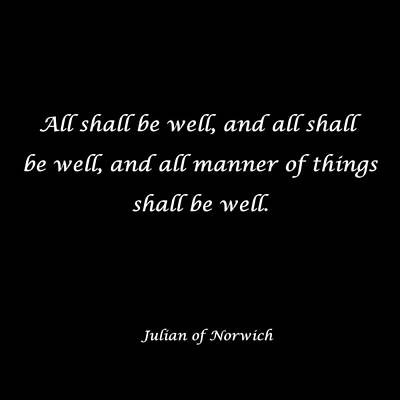 All Shall Be Well Poster