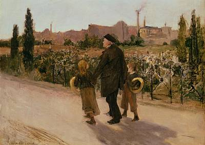All Souls Day, C.1882 Poster by Jules Bastien-Lepage
