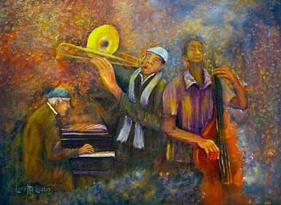 All That Jazz Poster by Loretta Luglio