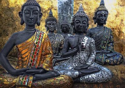 All U Buddhas Poster