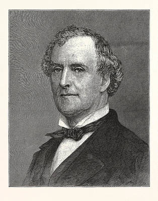 Allan Campbell, Comptroller Of New York Poster by American School
