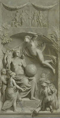 Allegory Of Fame, Gerard De Lairesse Poster