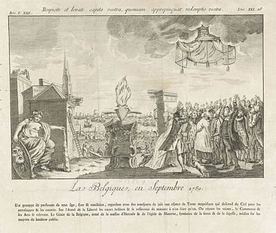 Allegory Of The Brabant Revolution, 1789 Poster by Anonymous