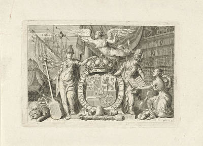 Allegory Of The Majority Of William V, 1766 Poster