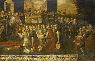 Allegory Of The Tyranny Of The Duke Of Alba Poster