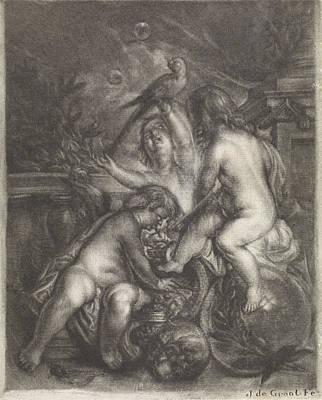 Allegory Of Transcience Vanitas, Jan De Groot Poster by Jan De Groot And Johannes De Boekhorst
