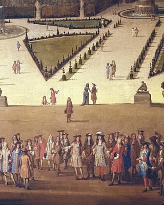 Allegrain, Etienne 1644-1736. Promenade Poster by Everett