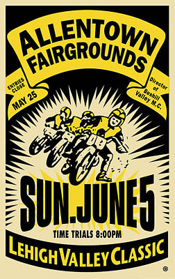Allentown Poster by Gary Grayson