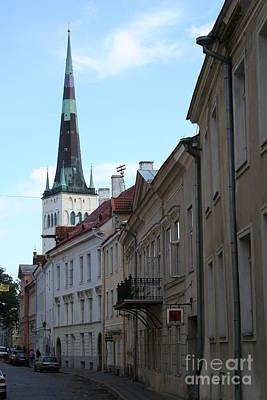 Alley - Tallinn Poster